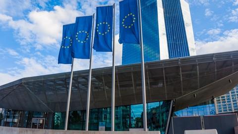 Gebäuder der EZB in Frankfurt am Main.