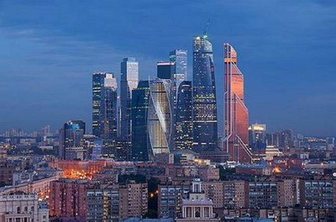 Moskauer Skyline. Bild und Copyright: Pavel L Photo and Video / shutterstock.com.