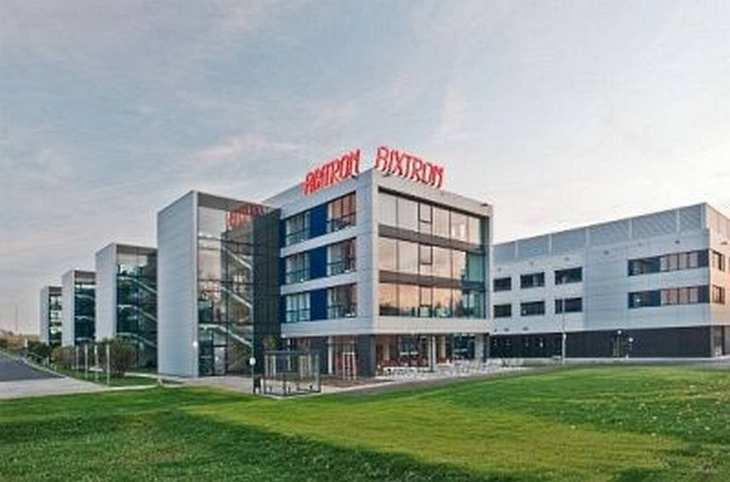 Die Übernahme des Aachener Unternehmens Aixtron durch die chinesische GCI ist gescheitert. Bild und Copyright: Aixtron.
