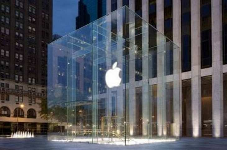 Apple-Store an der Fifth Avenue in New York City. Bild und Copyright: Apple.