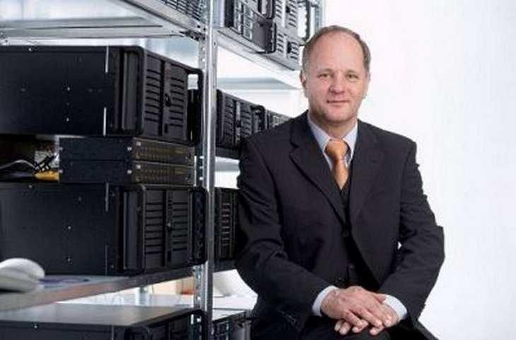 Der artec CEO und Gründer Thomas Hoffmann im Interview mit www.4investors.de. Bild und Copyright: artec technologies AG.