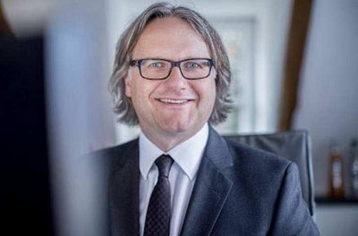 Berentzen-CEO Frank Schübel im Interview mit der Redaktion von www.4investors.de. Bild und Copyright:Berentzen.