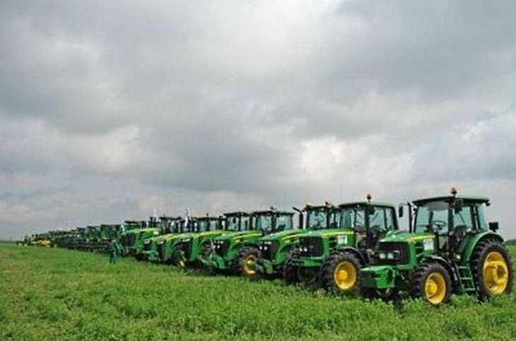 Ekotechnika gehört in Europa zu den größten Händlern von Landmaschinen des US-Herstellers John Deere. Bild und Copyright: Ekotechnika.