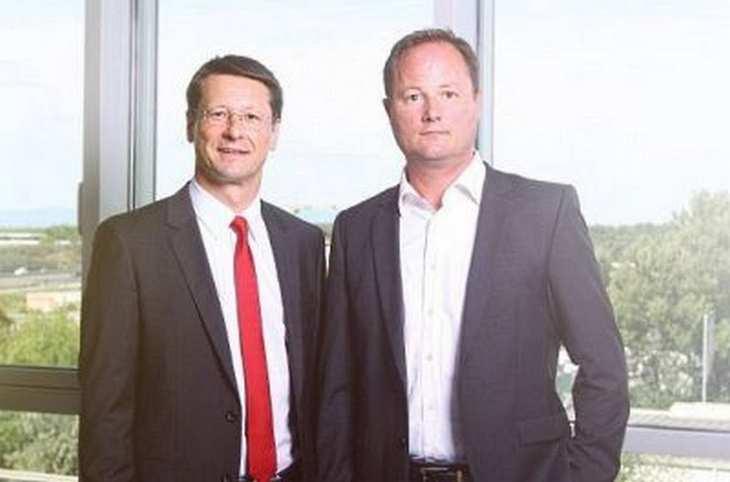 MAX21-Vorstandschef Oliver Michel sowie COO und CFO Nils Manegold im Exklusivinterview mit der Redaktion von www.4investors.de. Bild und Copyright: MAX21.