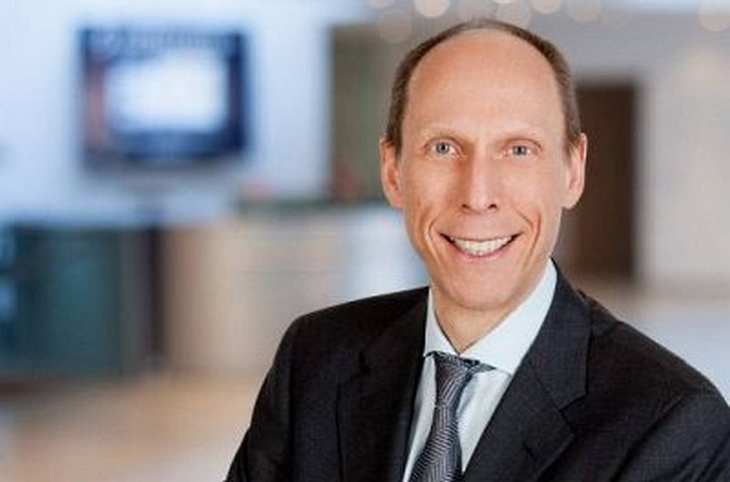 Arnd Zinnhardt, Finanzvorstand der Software AG, im Interview mit der Redaktion von www.4investors.de. Bild und Copyright: Software AG.