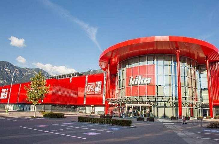 kika-Markt der Steinhoff-Gruppe in Österreich. Bild und Copyright: Steinhoff.