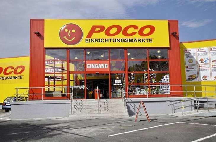 Die Steinhoff-Gruppe ist auch an den Poco-Märkten beteiligt. Bild und Copyright: Steinhoff.