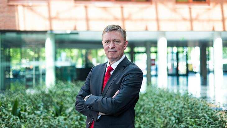Wolfgang Knirsch, Vorstandsvorsitzender von Vita 34, im Gespräch mit der Redaktion von www.4investors.de. Bild und Copyright: Vita 34.